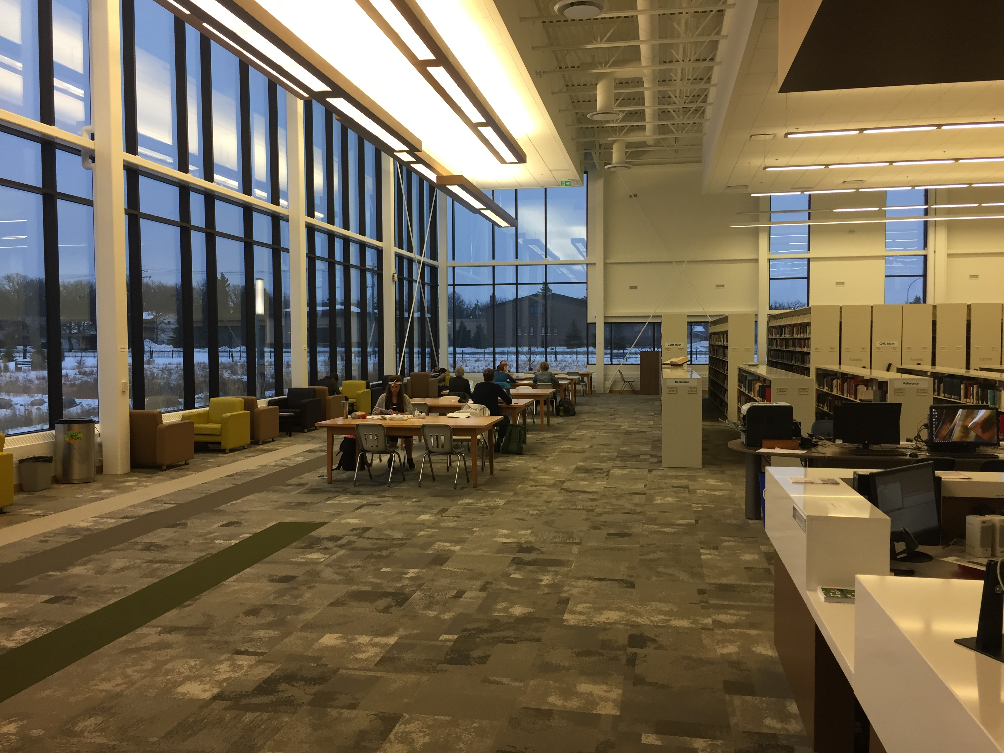 The Library - The Pros and Cons of CMU's Many Study Spaces