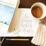 folio café coffee with a book